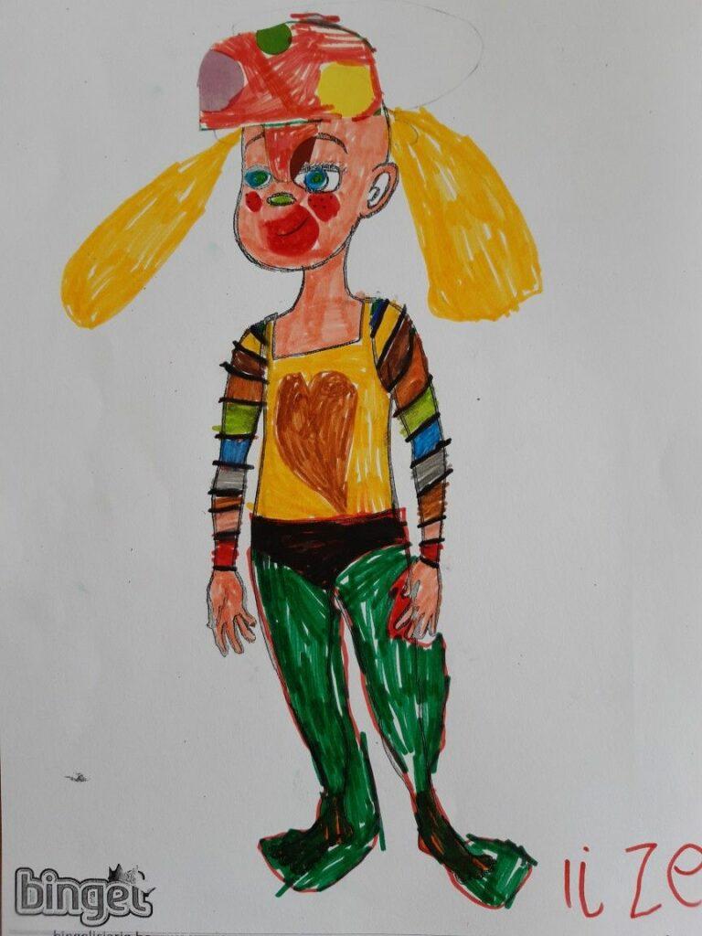 winnaar Bingel avatarwedstrijd leerjaar 1