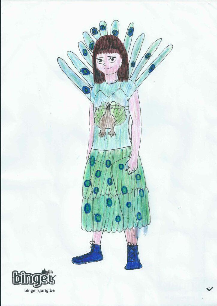 winnaar Bingel avatarwedstrijd leerjaar 6