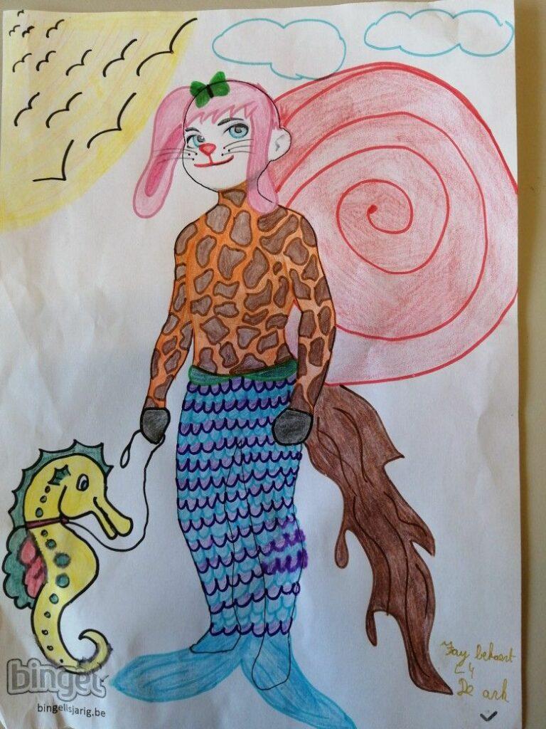 winnaar Bingel avatarwedstrijd leerjaar 4